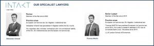 Intakt lawyers